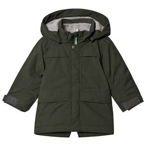 Didriksons Bjrling Parka Spruce Green 110 cm (4-5 Years)