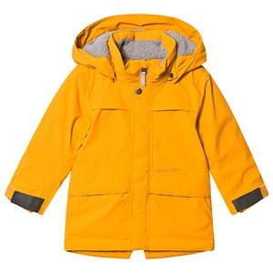 Didriksons Bjrling Parka Yellow Ochre 90 cm (1,5-2 Years)