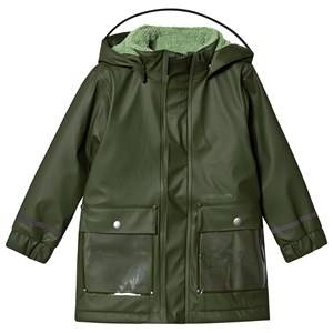 Didriksons Ekhold Coat Spruce Green Raincoats