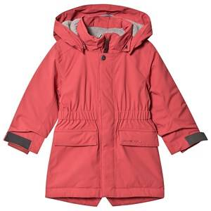 Didriksons Ronne Parka Raspberry Red 90 cm (1,5-2 Years)