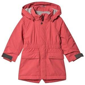 Didriksons Ronne Parka Raspberry Red 100 cm (3-4 Years)