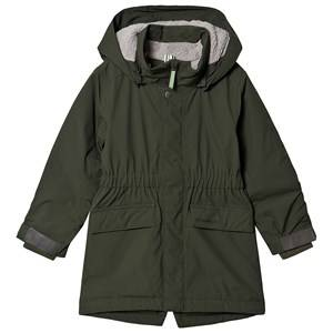 Didriksons Ronne Parka Spruce Green 100 cm (3-4 Years)