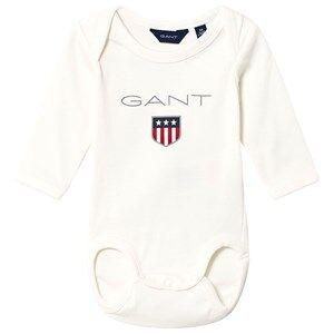 GANT Shield Baby Body White 62cm (3 months)