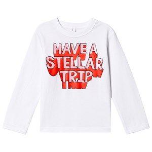 Stella McCartney Kids Have a Stellar Trip Tee White 14+ years