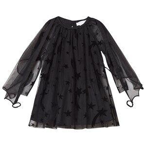 Stella McCartney Kids Shooting Stars Tulle Dress Black 2 years