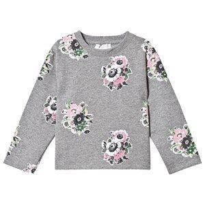 Stella McCartney Kids Flower Sweater Grey 2 years