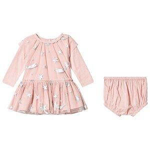 Stella McCartney Kids Stars Tulle Dress Pink 18 months