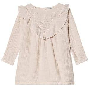 bho Anne Embroidery Dress Dust Rose 10 Years