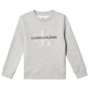 Image of Calvin Klein Jeans Monogram Sweatshirt Grey 6 years
