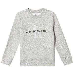 Image of Calvin Klein Jeans Monogram Sweatshirt Grey 8 years