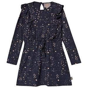 Image of Creamie Jersey Dot Dress Total Eclipse 116 cm (5-6 Years)