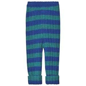 Oeuf Everyday Pants Electric and Blue Teal 6 Years