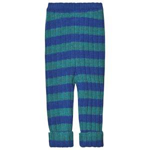 Oeuf Everyday Pants Electric and Blue Teal 12 Months