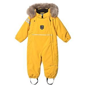 Lindberg Colden Baby overall Yellow 80 cm (9-12 Months)