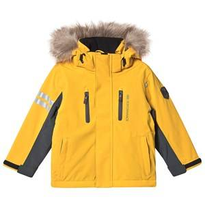 Lindberg Colden Jacket Yellow Ski jackets