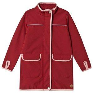 ebbe Kids Dacian Softshell Jacket Cherry Red Shell jackets