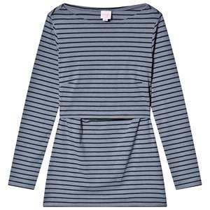 Image of Boob Sione Top Long Sleeve Soke idnight Blue (38/40)