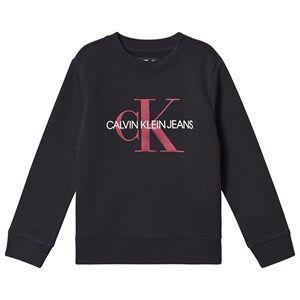 Image of Calvin Klein Jeans Monogram Sweatshirt Black 4 years