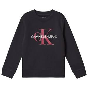 Image of Calvin Klein Jeans Monogram Sweatshirt Black 8 years