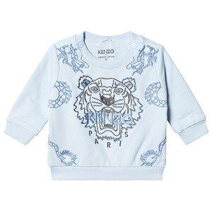 Kenzo Tiger Dragon Sweatshirt Pale Blue 9 months