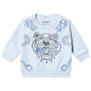 Kenzo Tiger Dragon Sweatshirt Pale Blue 12 months