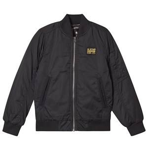 G-STAR RAW Originals Logo Bomber Jacket Black 16 years