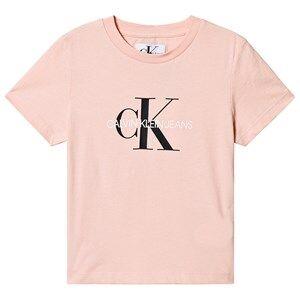 Image of Calvin Klein Jeans CKJ Monogram T-shirt Pink 6 years