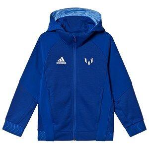adidas Performance Messi Zip Hoodie Blue 4-5 years (110 cm)