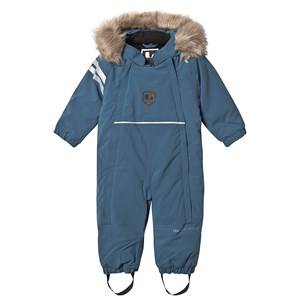 Lindberg Colden Baby overall Petroleum 80 cm (9-12 Months)
