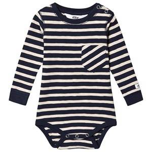 Image of ebbe Kids Milian Baby Body Navy and Sand 62 cm (2-4 Months)