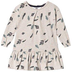 ebbe Kids Isadora Dress Beige Melange 68 cm (4-6 Months)