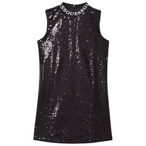 Image of Guess Sequin Dress Black 14 years