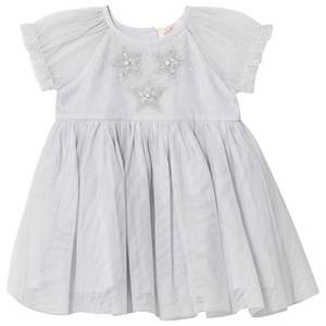 Tutu Du Monde Star Wonder Embellished Tulle Dress Silver 3-6 months