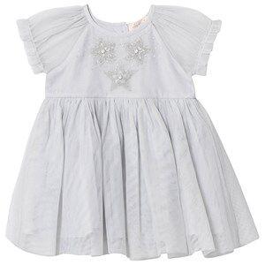 Tutu Du Monde Star Wonder Embellished Tulle Dress Silver 12-18 months