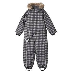 Image of Wheat Moe overall Black Print 104 cm (3-4 Years)