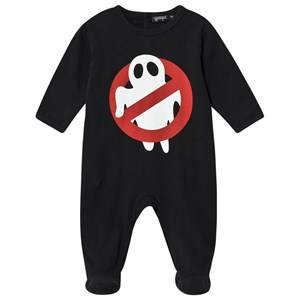 Yporqu Ghost Footed Baby Body Black 12 Months