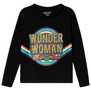 Eleven Paris Wonder Woman Tee Black 4 years