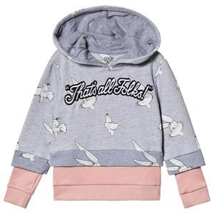 Eleven Paris Thats All Folks Hoodie Grey 12 years