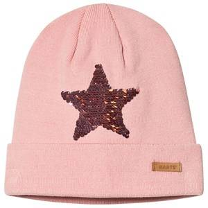 Barts Star Reversible Sequin Kate Beanie Pink Beanies