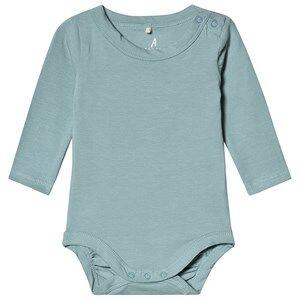 A Happy Brand Long Sleeve Baby Body Sky Blue 50/56 cm