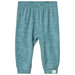 Celavi Wonder Wollies Harem Pants Solid Lulworth Blue 60 cm (2-4 Months)