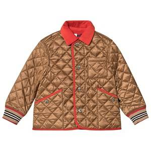 Burberry Diamond Quilted Jacket Bronze 3 years