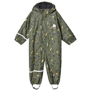 Celavi Cool Dude Rain Suit Army 80 cm (9-12 Months)