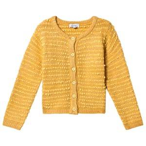 Image of Absorba Bobble Knit Cardigan Mustard 5 years