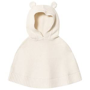 GAP Hooded Poncho Cape Ivory frost 2 Years
