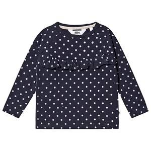 Image of ebbe Kids Ivy Long Sleeve Tee Dot Navy 128 cm (7-8 Years)