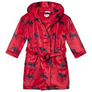 Image of Hatley Moose Robe Red XL (8-9 years)