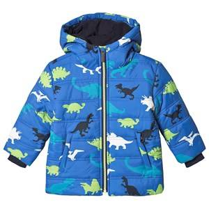Hatley Dino Herd Puffer Jacket Blue 7 years