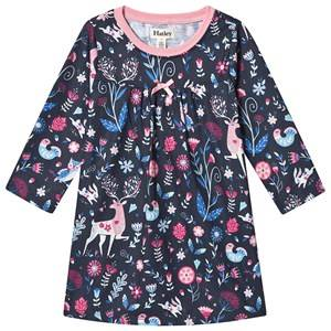Hatley Nordic Forest Night Dress Navy 3 years