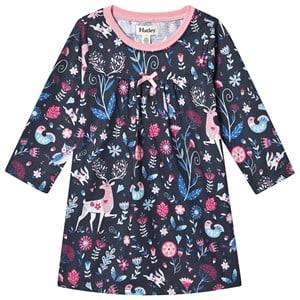 Hatley Nordic Forest Night Dress Navy 7 years